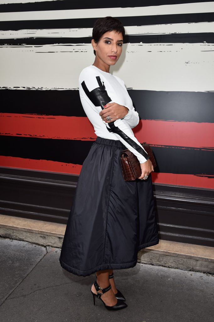 PARIS, FRANCE - SEPTEMBER 29:  Princess Deena Aljuhani Abdulaziz attends the Sonia Rykiel show as part of the Paris Fashion Week Womenswear Spring/Summer 2015 on September 29, 2014 in Paris, France.  (Photo by Pascal Le Segretain/Getty Images)